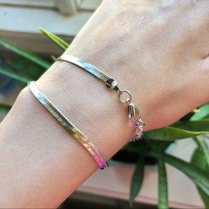 Jewelry - Herringbone Chain Necklace